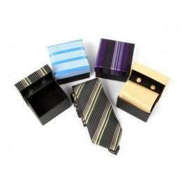 set corbata y gemelos