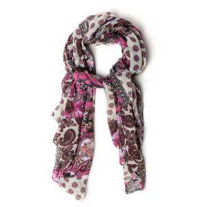 bonito y alegre foulard con diseño