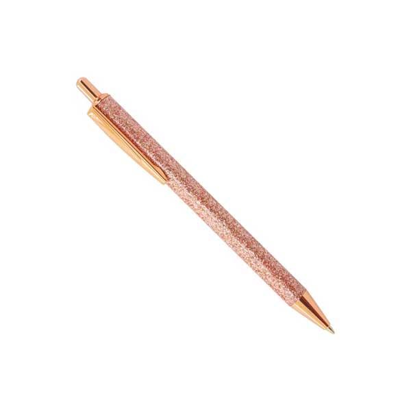precioso bolígrafo brillo, elegante y bonito