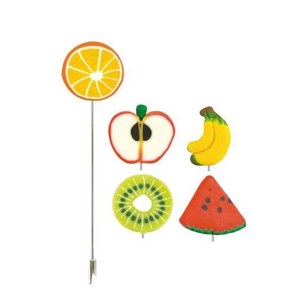 alfiler fruta
