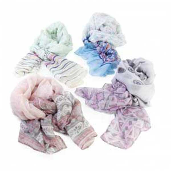 foulard y pashmina étnica muy suave
