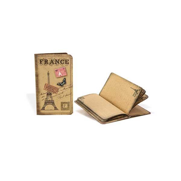 preciosa libreta vintage París muy económica