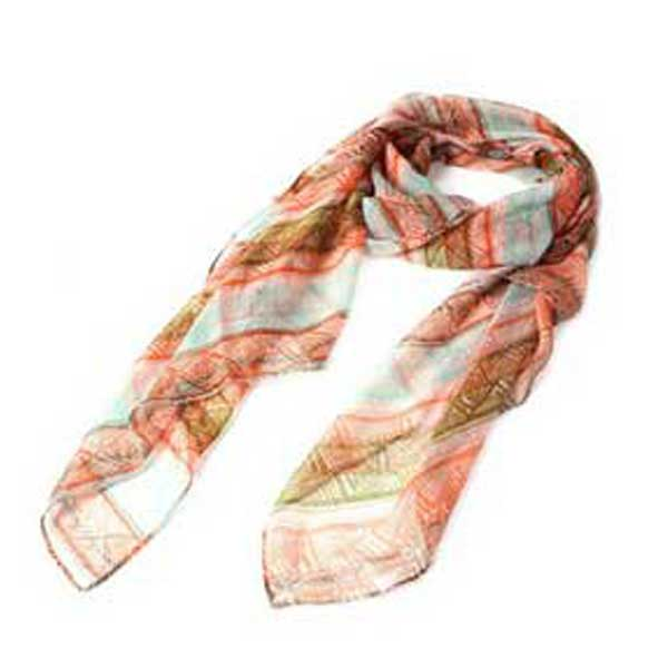 original y bonito foulard étnico