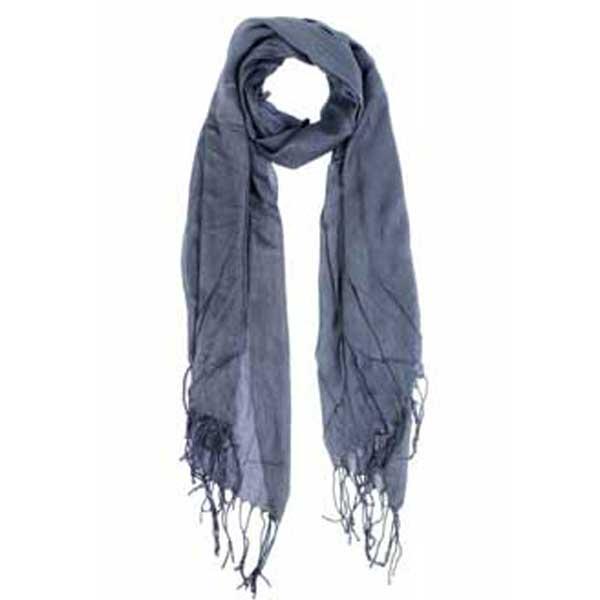bonito foulard de algodón surtido de colores