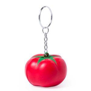 original llavero anti estrés con forma de frutas