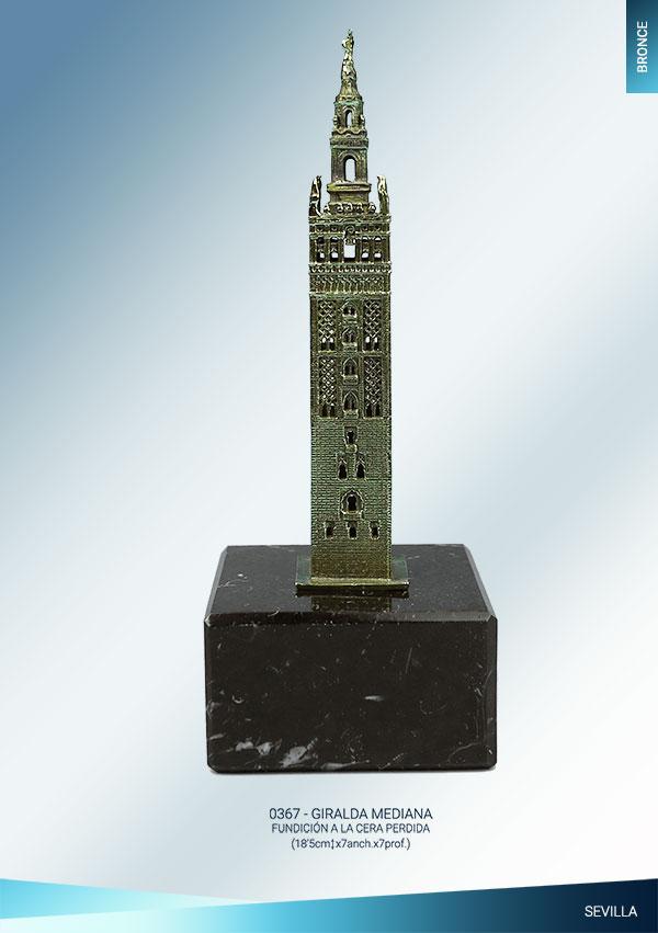 Giralda de Sevilla Bronce mediana