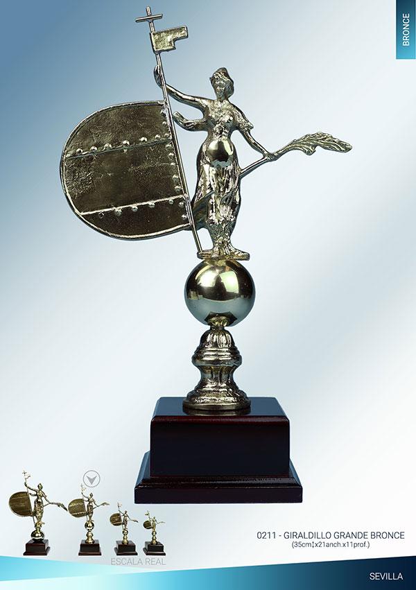 Giraldillo de Sevilla bronce
