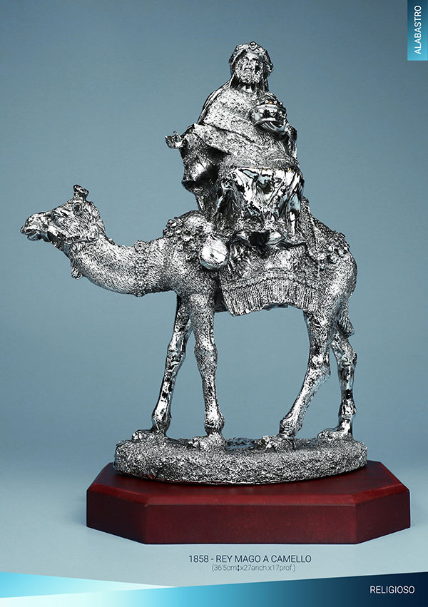 Rey Mago a camello