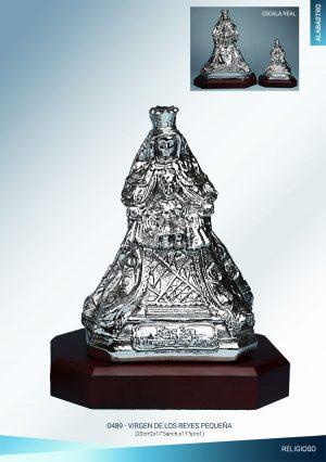 Virgen de los Reyes alabastro