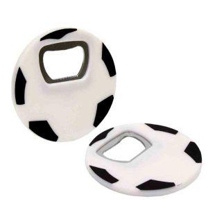 original abridor con forma de balón de fútbol