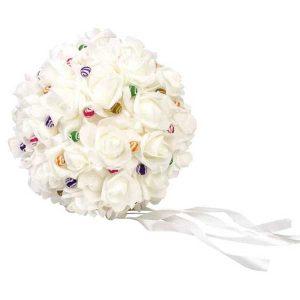 bola de flores goma eva para los alfileres