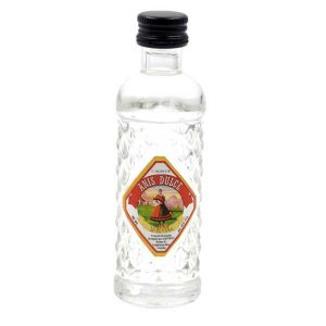 miniatura de botella de anis
