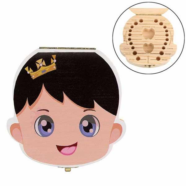 original caja de madera para dientes