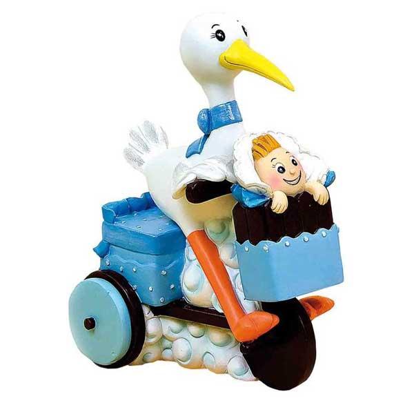 original cigueña en moto