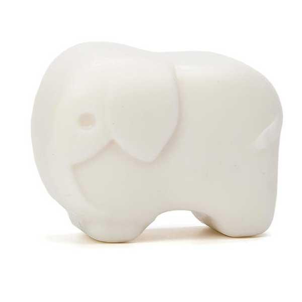 original jabón con forma de elefante