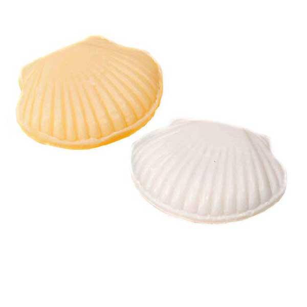 bonito y económico jabón con forma de concha