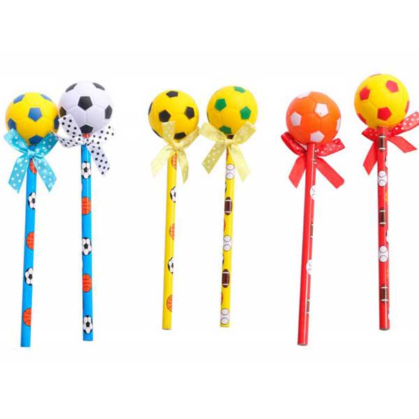 original y económico lápiz de fútbol.