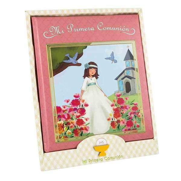 original libro de firmas de comunión