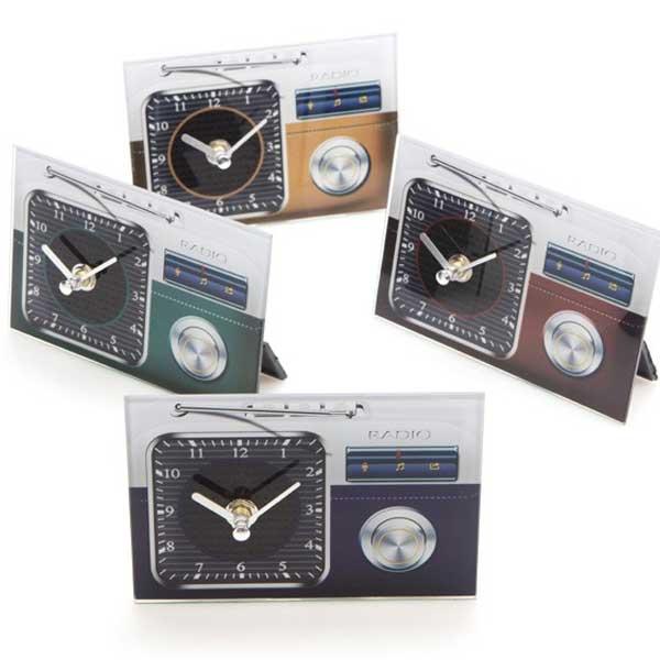 original reloj de cristal vintage
