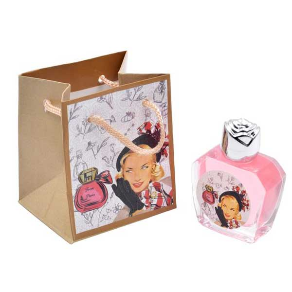 bonito y original perfume rosa